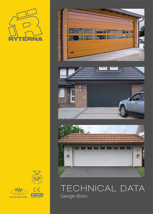 RYTERNA Garage Doors - Technical Data
